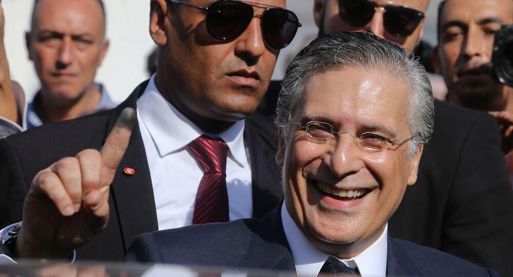 Nabil Karoui, candidat à la présidentielle tunisienne d'octobre 2019.