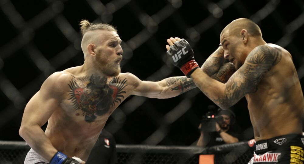 Conor McGregor et Dustin Poirier