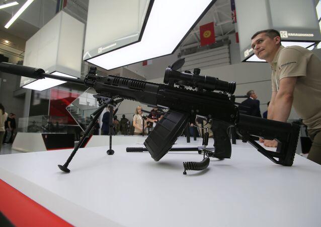 Le fusil mitrailleur RPK-16