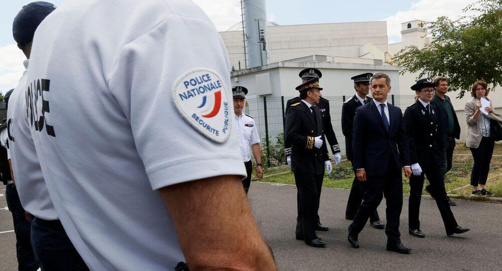 Gérald Darmanin et la police nationale