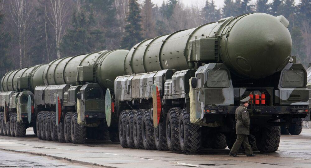 Missiles stratégiques Topol
