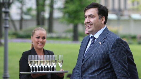 Le président géorgien Mikhaïl Saakachvili - Sputnik France