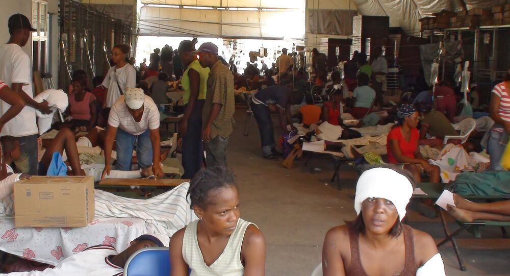 Ситуация на Гаити после землетрясения