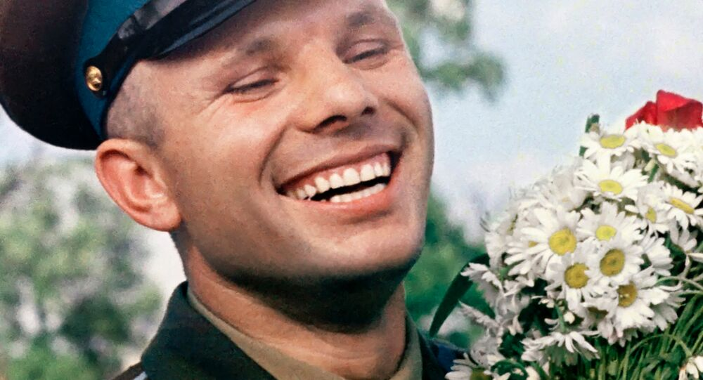 le cosmonaute soviétique Youri Gagarine