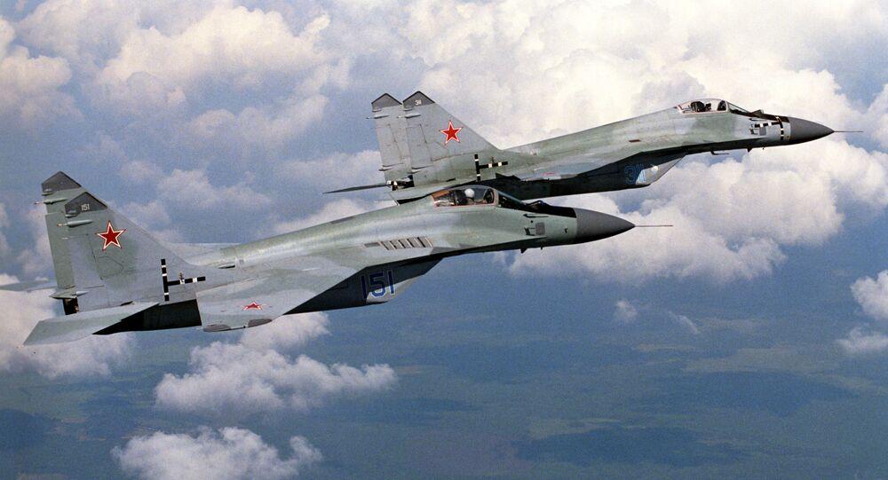Сhasseurs russes MiG-29