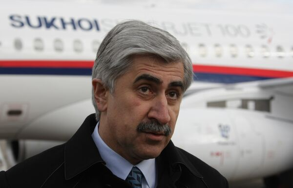 PDG d'OAK Mikhaïl Pogossian - Sputnik France