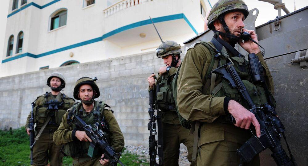 L'armée d'Israël, Tsahal, organise des exercices d'entraînement pour parer les attaques terroristes éventuelles de la Syrie voisine.