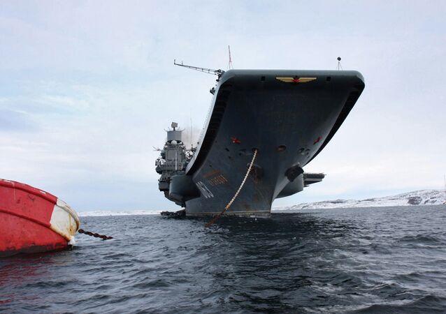 L'unique porte-avions russe, baptisé Admiral Kouznetsov