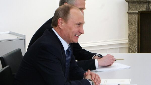 Vladimir Putin meets with Werner Faymann - Sputnik France