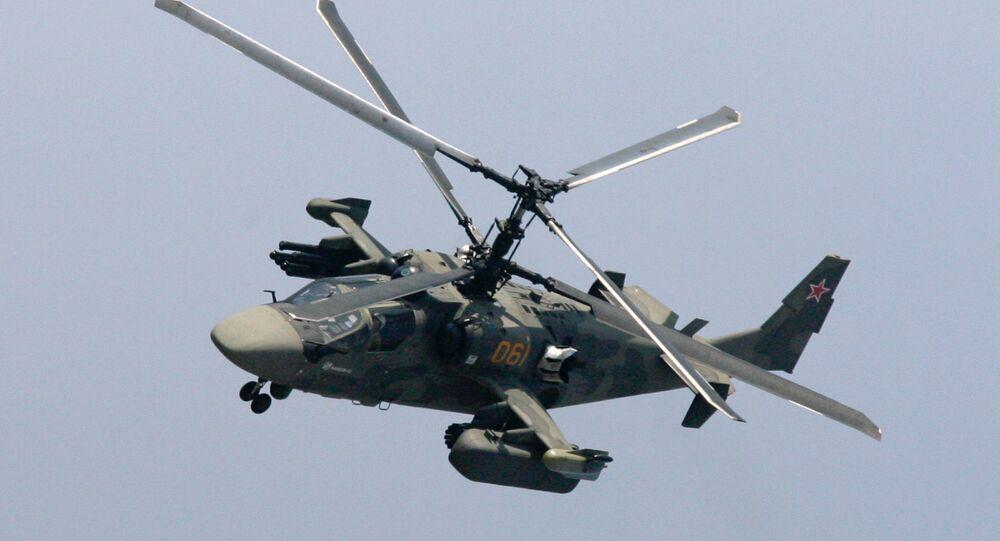 l'hélicoptère russe Ka-52