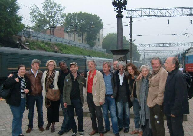 Une odyssée d'écrivains français à travers la Russie
