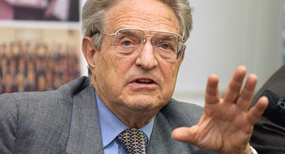 Milliardaire américain George Soros, Moscou