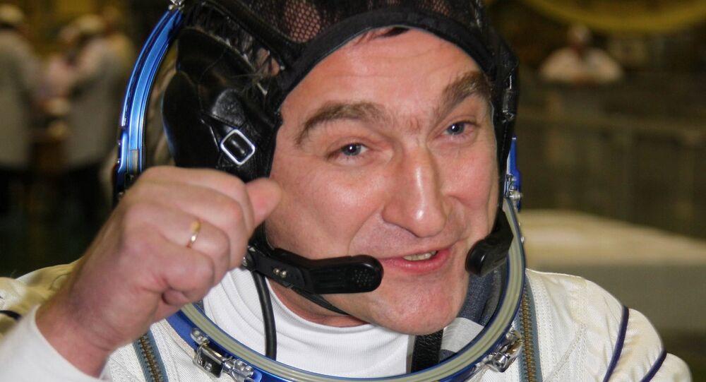 Le commandant de la Station spatiale internationale (ISS), Alexandre Skvortsov