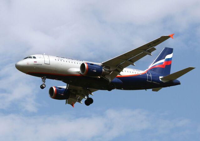 Aeroflot.  Airbus A319