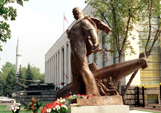 Monument aux marins perdus sous-marin nucléaire Koursk