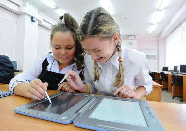 La rentrée des classes dans les écoles russes