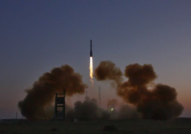 Tir d'un lanceur russe Proton-M depuis Baïkonour (archives)