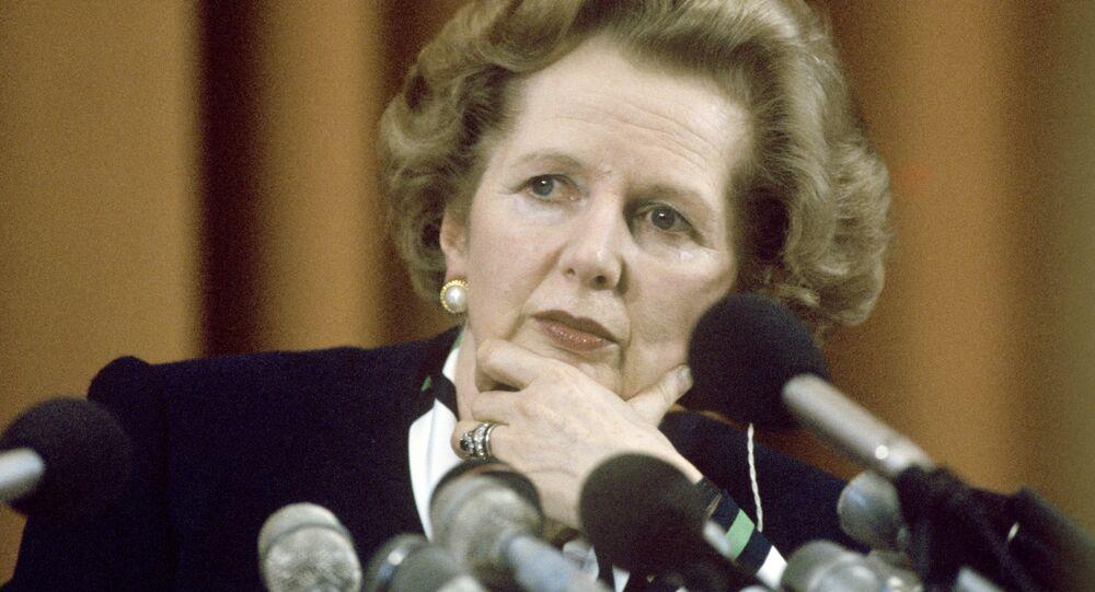 L'ex-Première ministre britannique Margaret Thatcher