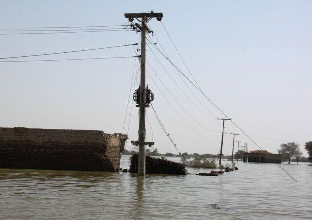 Inondations au Pakistan (archives)