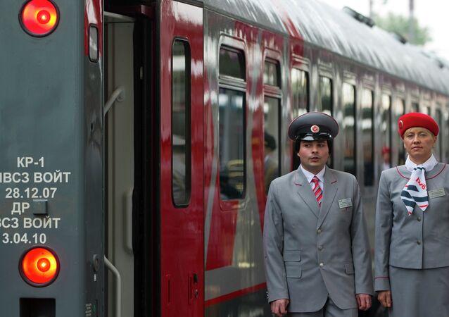 Un train russe