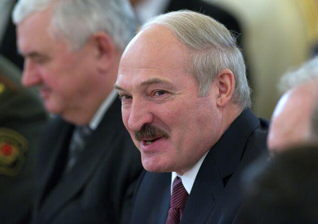 Le président biélorusse Alexandre Loukachenko