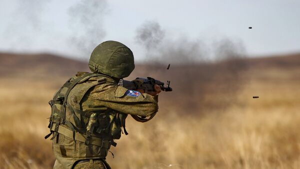 Военные учения ШОС Мирная миссия-2010 - Sputnik France