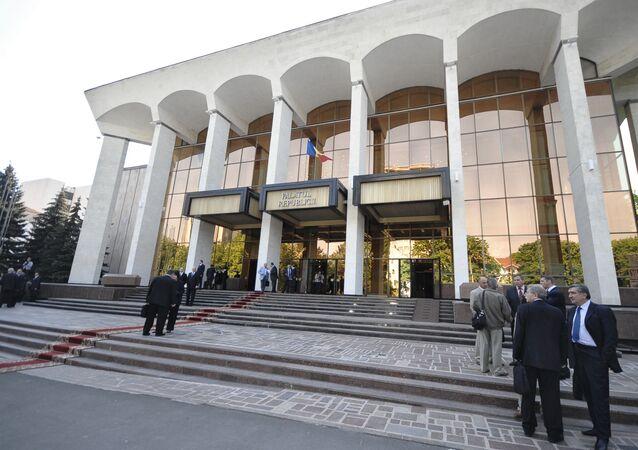Le parlement de la Moldavie