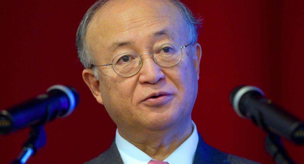 Yukiya Amano, directeur général de l'AIEA
