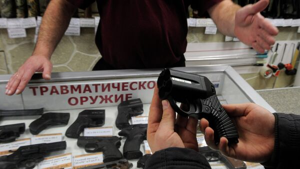 Un pistolet russe intéresse la police américaine - Sputnik France