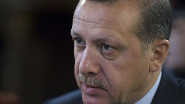 Премьер-министр Турции Реджеп Тайип Эрдоган - Sputnik France