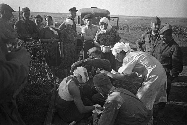Пострадавшие в первые дни Великой Отечественной войны