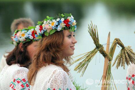 Празднование дня Ивана Купалы