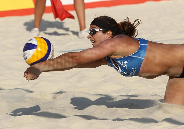 beach-volley, image d'illustration