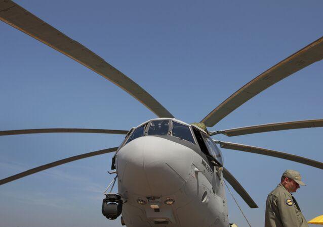 Hélicoptère Mi-26. Archives
