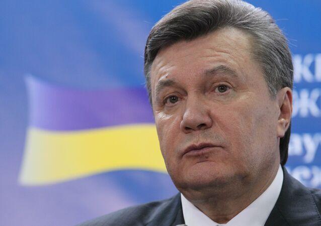 Le président ukrainien Viktor Ianoukovitch