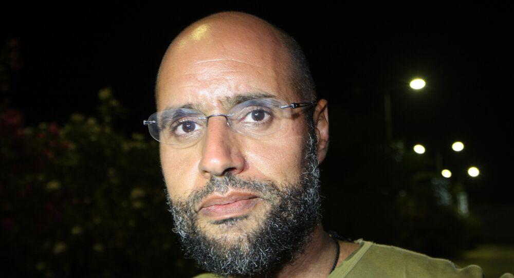 Saїf al-Islam, fils du dirigeant libyen déchu Mouammar Kadhafi