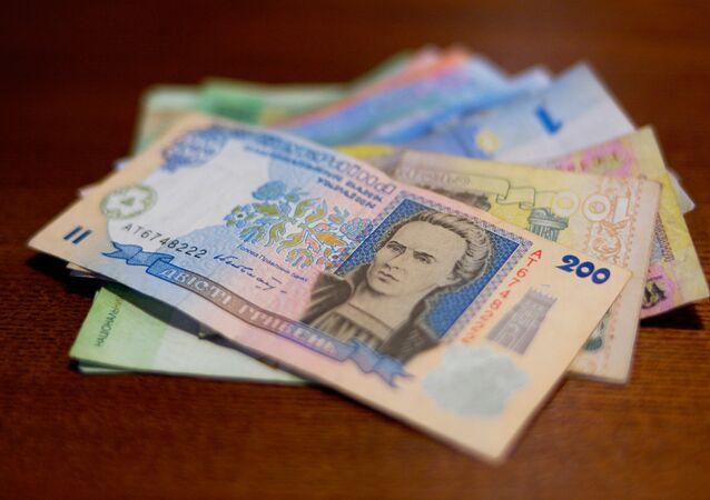 Hryvnias - la monnaie nationale de l'Ukraine
