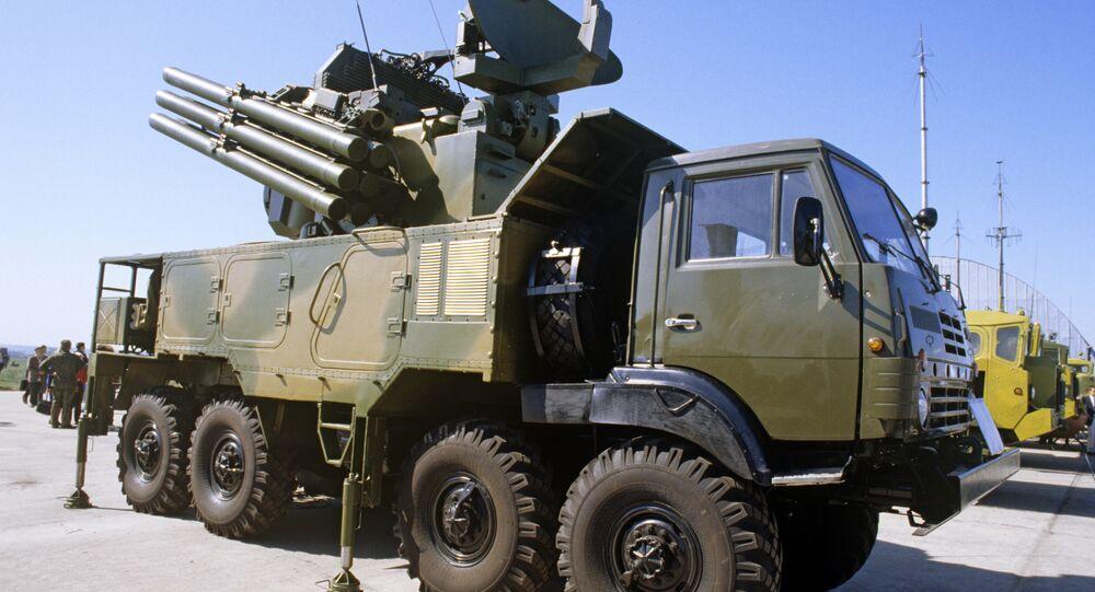 Système antiaérien Pantsir-S1