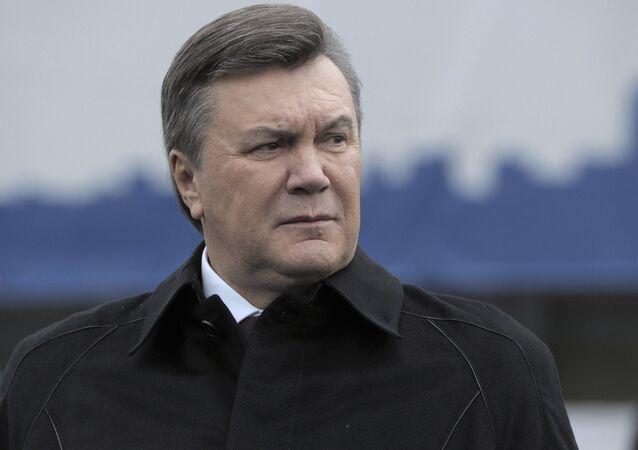 Viktor Ianoukovitch, ex-président de l'Ukraine