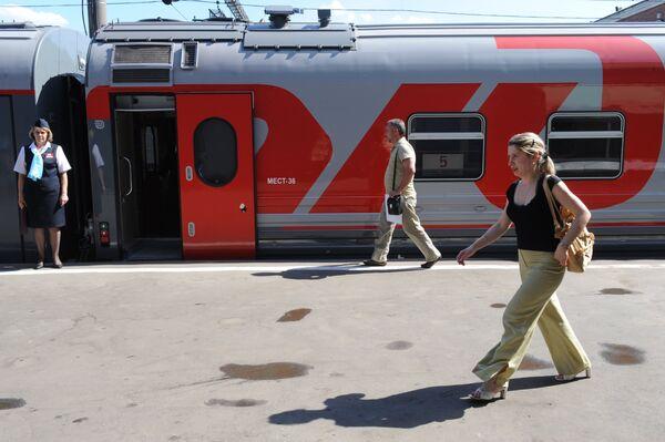 Les Chemins de fer de Russie ouvrent un bureau en France - Sputnik France