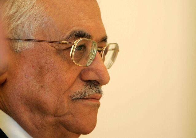 Président de Palestine Mahmoud Abbas