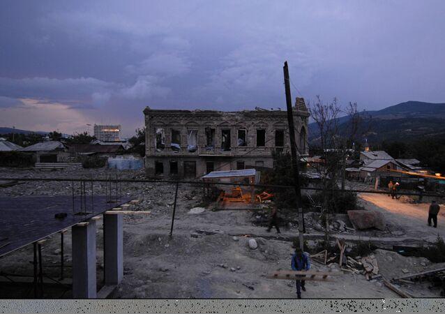 Tskhinvali un an après l'agression géorgienne de 2008