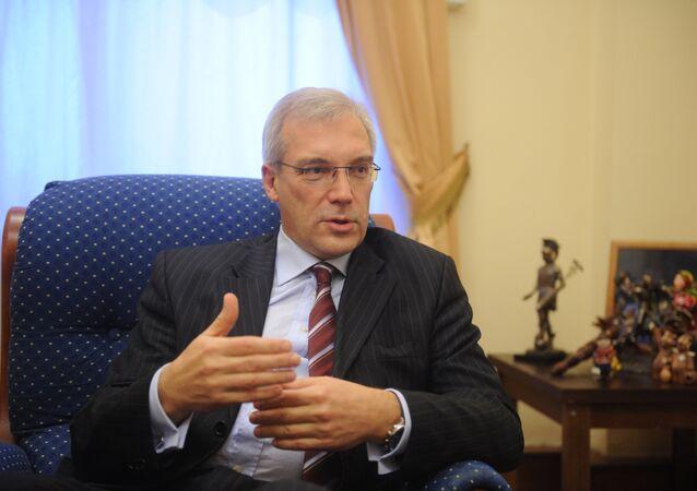 Alexandre Grouchko, délégué permanent russe auprès de l'Otan. Archive photo