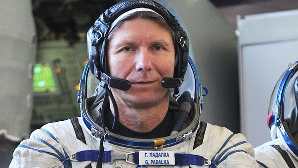 Тренировка на ТДК Союз ТМА-М основного экипажа МКС-31/32 в Звездном городке - Sputnik France