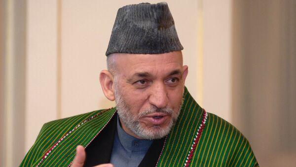 Президент Афганистана Хамид Карзай - Sputnik France