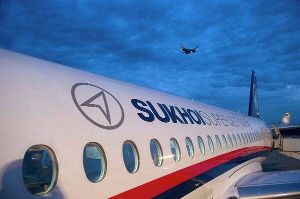 Sukhoi Superjet 100 - Sputnik France