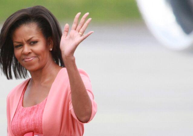 L'épouse du président américain sortant, Michelle Obama