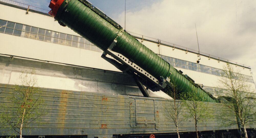 Un train lance-missiles russe (archive photo)