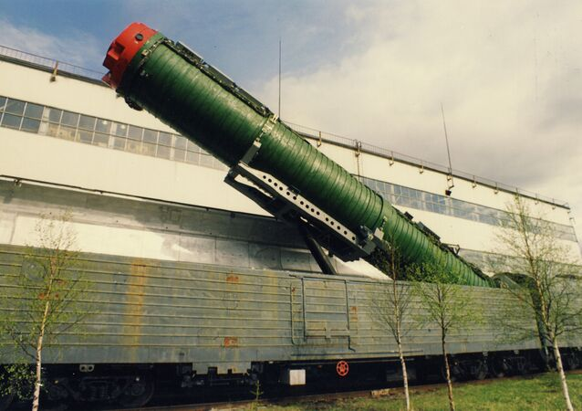 Un train lance-missiles russe (archive photo)
