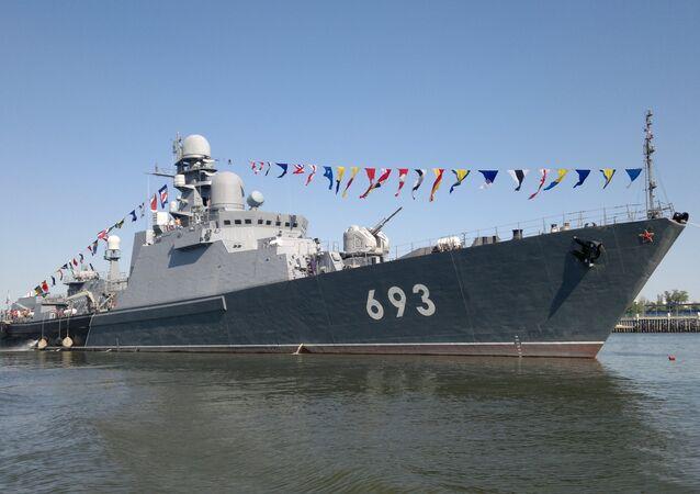 La frégate lance-missiles Daghestan